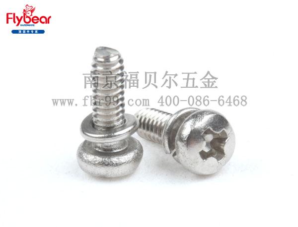 FBR-DM02企业标准 十字槽盘头螺钉、与弹簧垫圈组合件