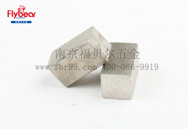 不锈钢304材质两头方平键 GB/T1096B-2003 方健 键条