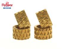 菱形或网纹滚花铜螺母
