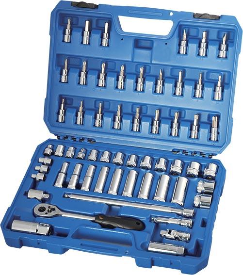 H02202 58件10MM系列公制套筒组套