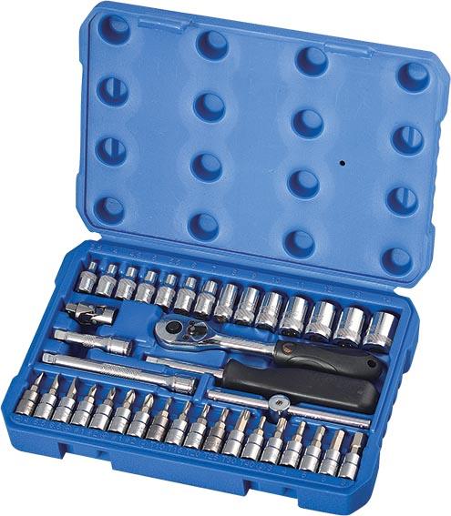 H02201 38件6.3MM系列公制套筒组套