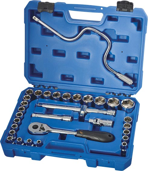 H02208 32件12.5MM系列公制套筒组套