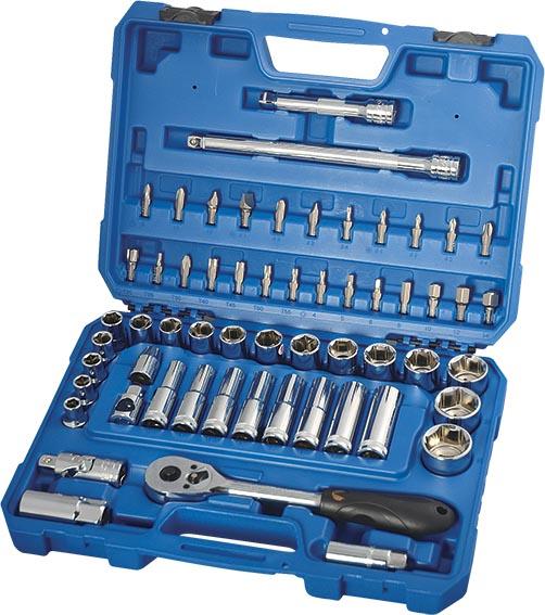 H02205 58件12.5MM系列公制套筒组套