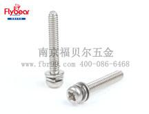 FBR-DM01企业标准 十字槽盘头螺钉、平垫圈和弹簧垫圈组合件