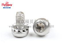 304不锈钢 带外锯齿垫圈组合螺钉