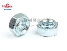 六角压铆碳钢螺母FBR-BOB型