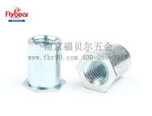 快销钢通孔压铆螺柱FRB-SO型