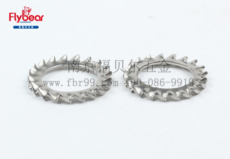 GB862.2-87 DIN6798A 不锈钢外锯齿锁紧垫圈