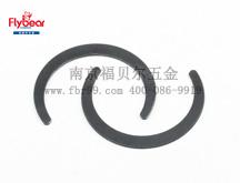 碳钢发黑半圆形调整垫片 衬套