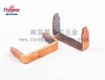 H62铜排折弯件 电子导电接触件