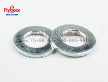 弹簧钢65Mn环保彩锌碟型垫圈  防松垫圈 叠型垫圈 自锁垫圈