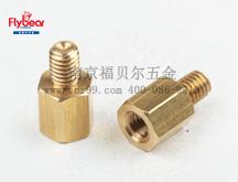 D10699定制隔离柱H62铜3x3.5x4