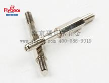 碳钢镀镍六角隔离柱 六角支柱 电子隔离柱 阴阳螺钉