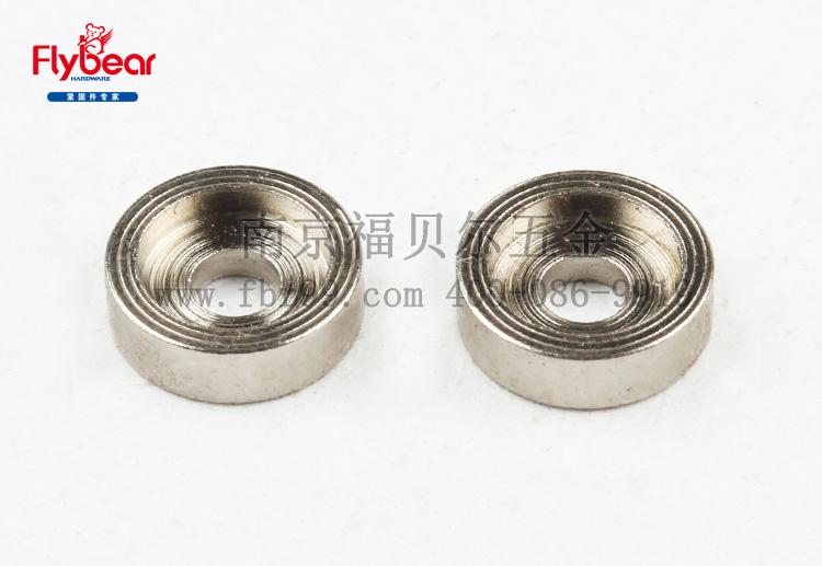 碳钢1215材质镀镍定制垫圈