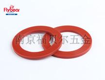 红色橡胶BF6663材质密封圈 红介子垫圈( HK2301311)