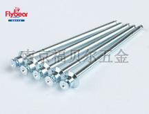碳钢镀蓝白锌POP铆钉 双面沉头铆钉 抽芯拉钉