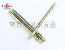 D11137碳钢镀彩锌按图定制导线销(HK3501014)