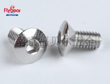 D10958不锈钢304材质按图内六角扁圆头沉头螺钉