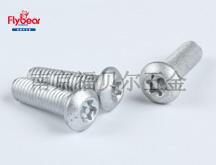 D10964碳钢镀达克罗按图定制内梅花盘头螺钉