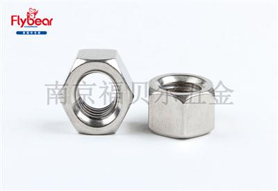 防锁死螺母GB6170 (DIN934)六角螺母 不锈钢304