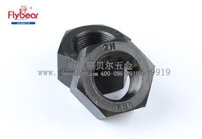 A194 2H镀发黑美制细牙米制六角螺母1型(ASMEB18.2.4.1M)