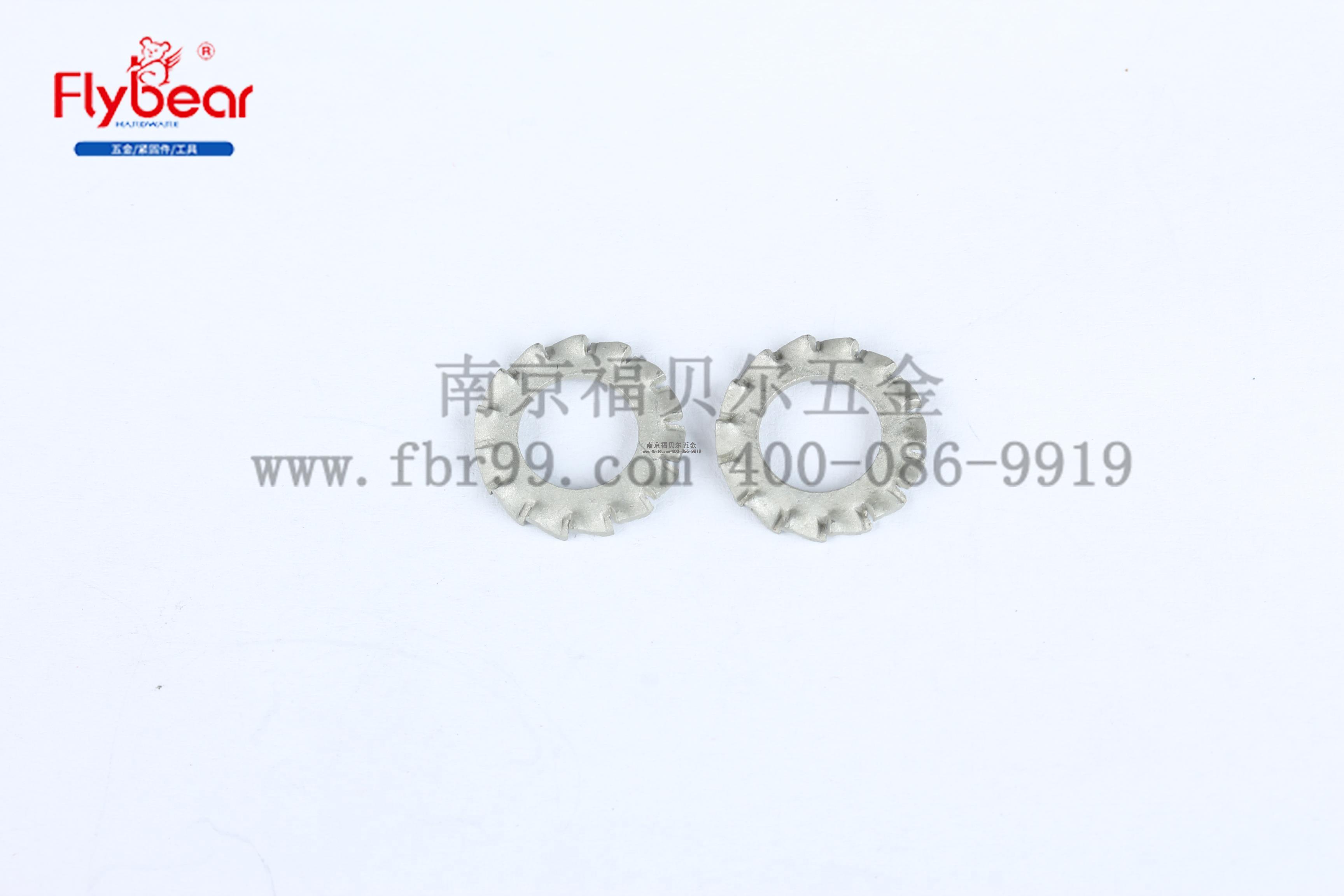GB862.2 外锯齿锁紧垫圈 碳钢65MN 镀达克罗