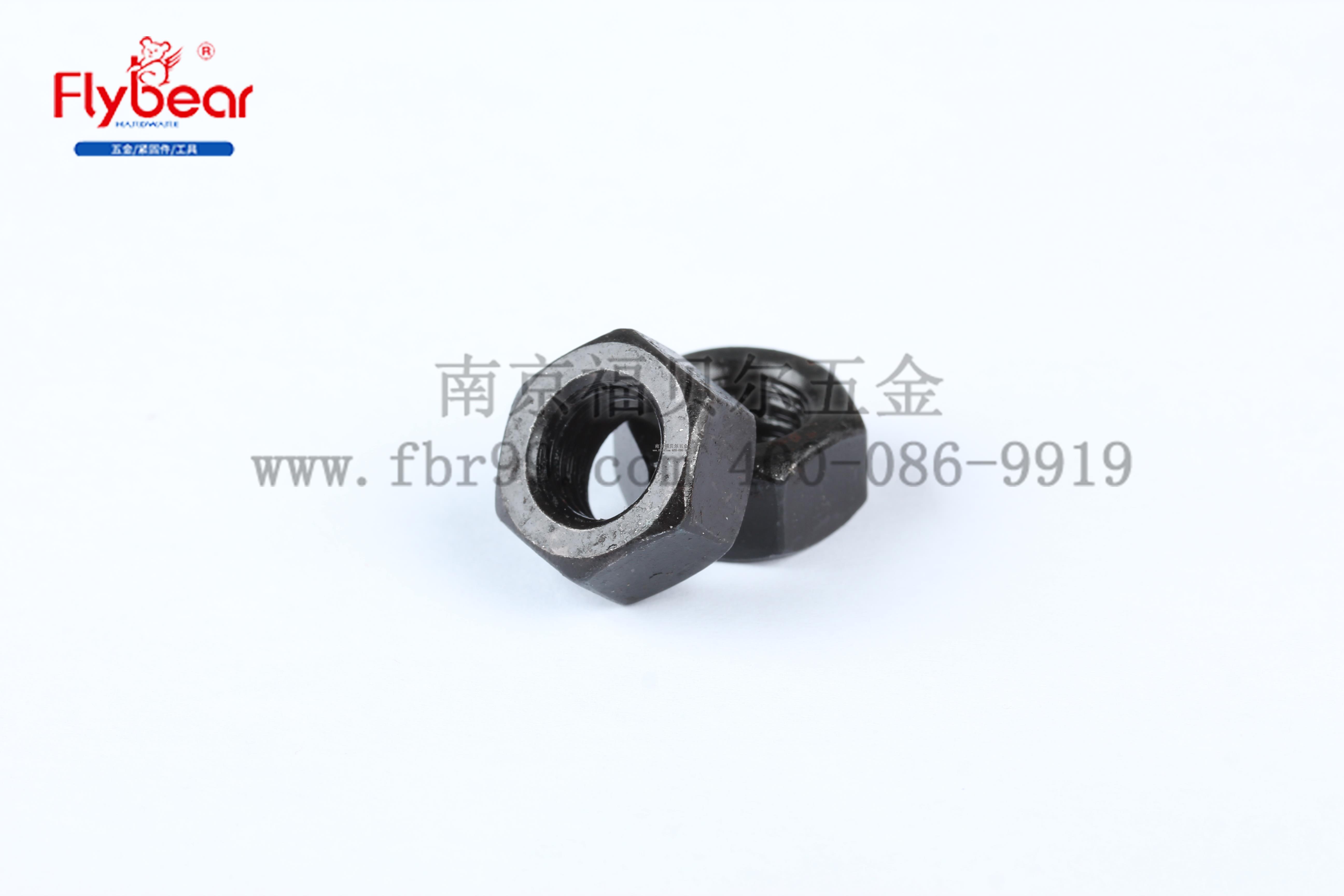 GB6170 六角左旋螺母 碳钢10级发黑